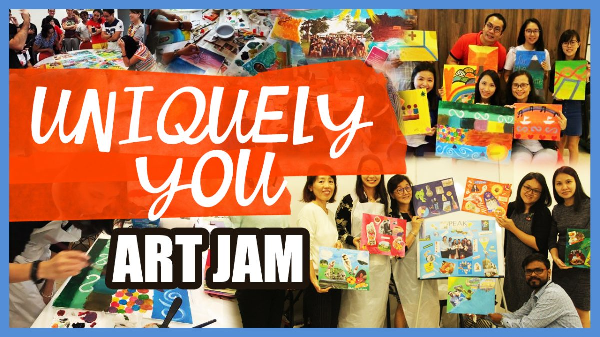 """Uniquely You"" Art Jam"