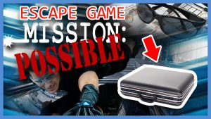Escape Game Mission Impossible team building activity