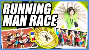 Running Man Race team building activity