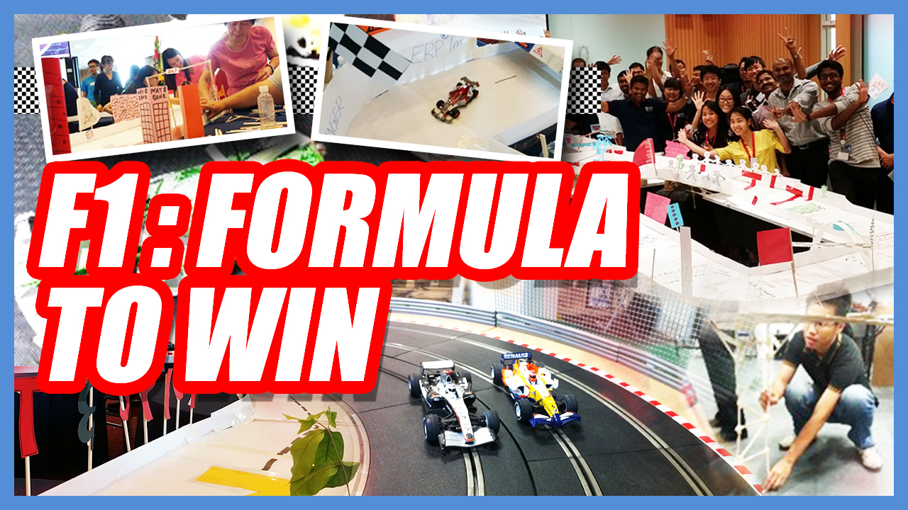 F1 : Formula To Win team building Singapore activity