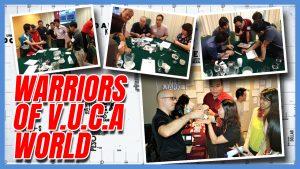 Warriors of V.U.C.A World team building Singapore activity