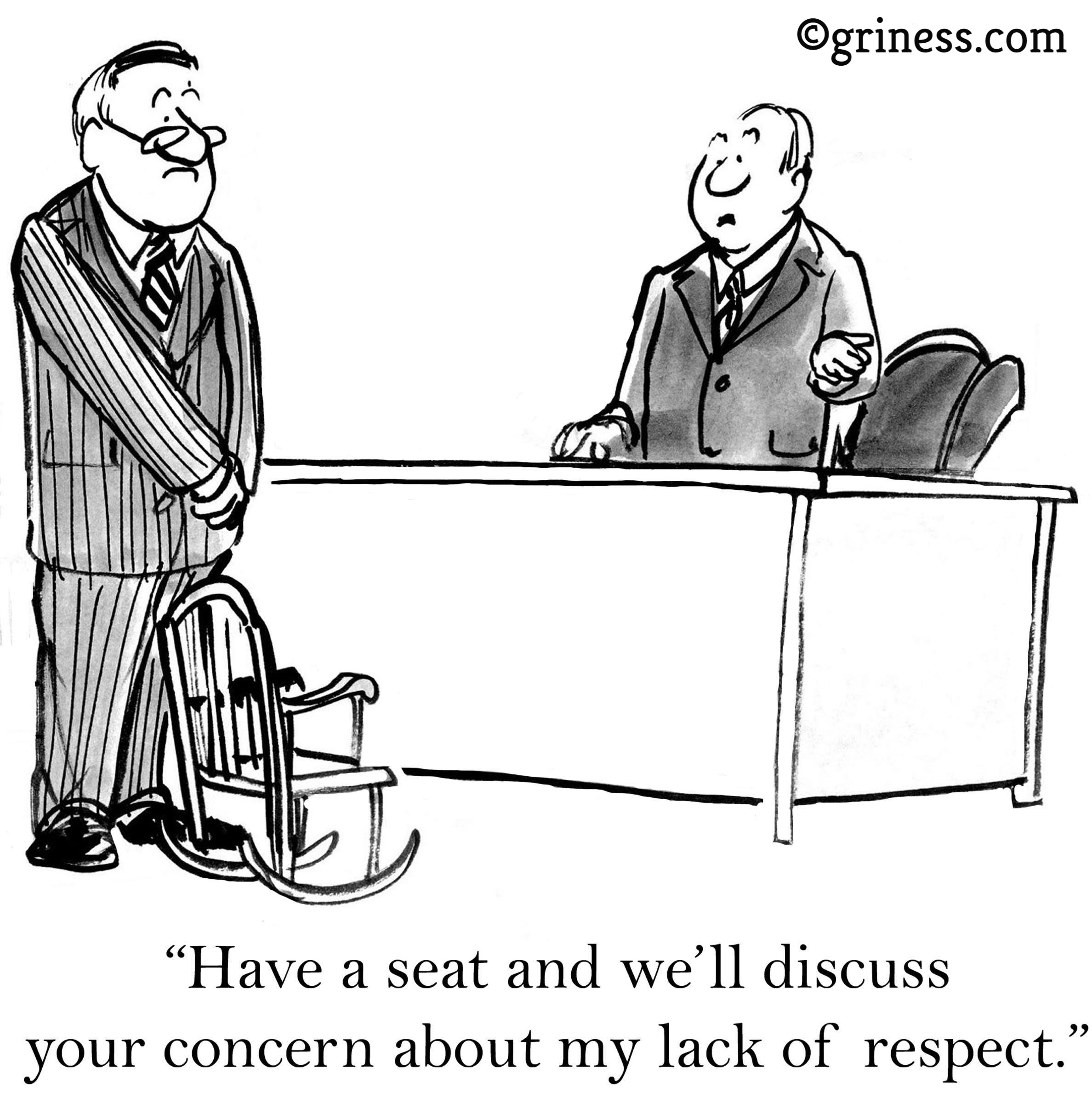 respect appreciation free business cartoons