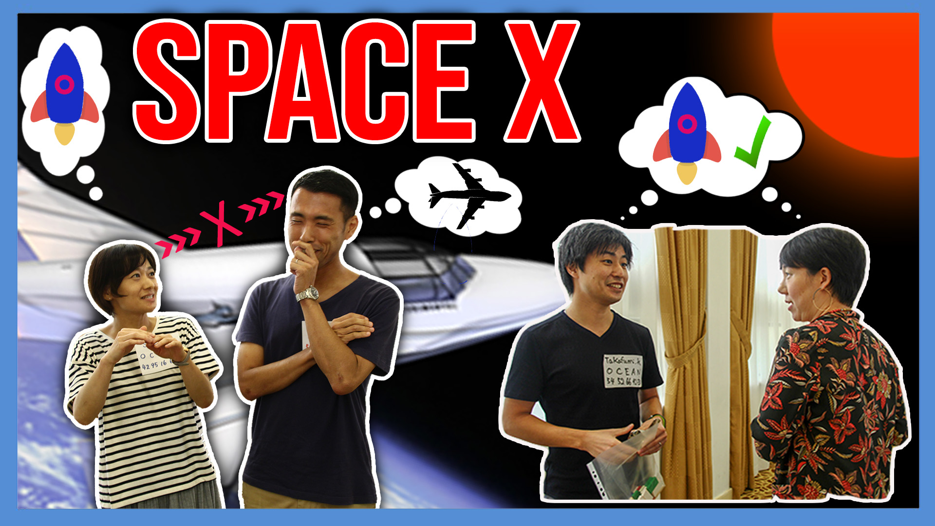 SpaceX team building Singapore activity