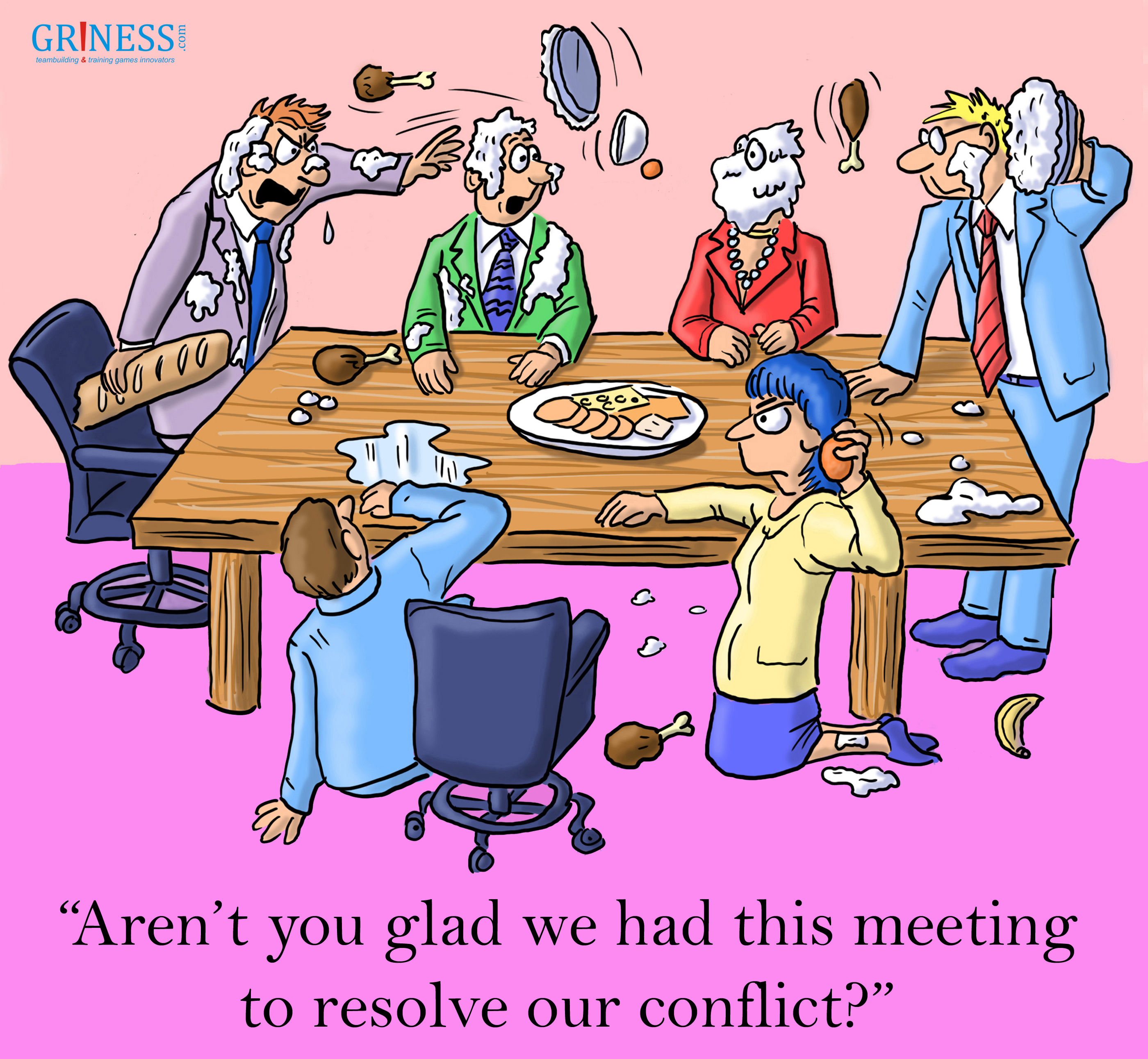 meeting to resolve our conflict