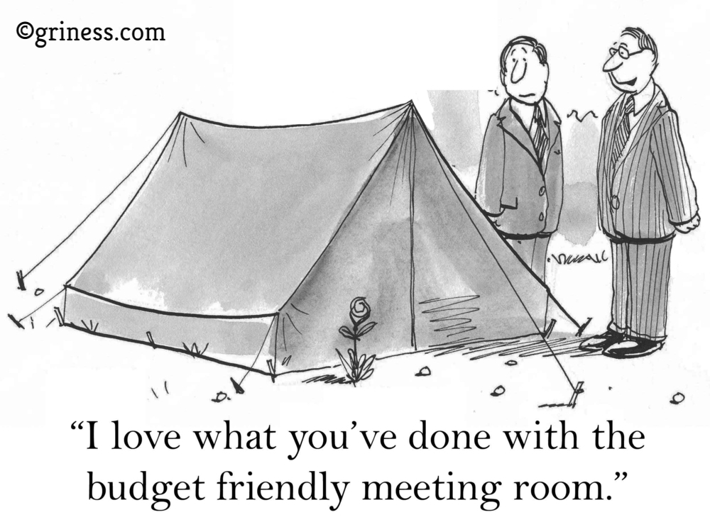 budget friendly meeting room griness com business cartoons free corporate humour