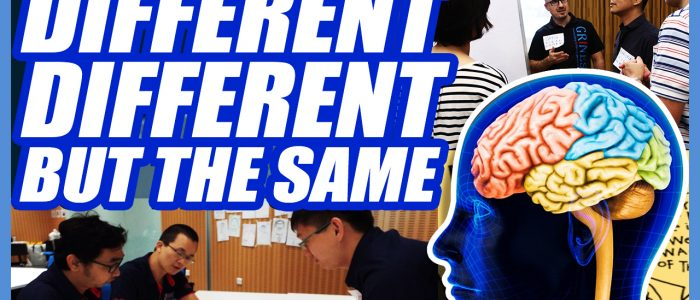 Different Different But The Same – Big Five Traits Personality Profiling