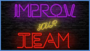 Improv Your Team virtual team building activity